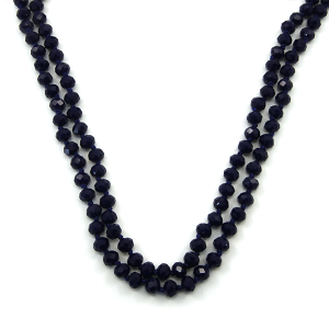 Necklace 771d 46 Encour 30 60 inch bead necklace royal blue 63