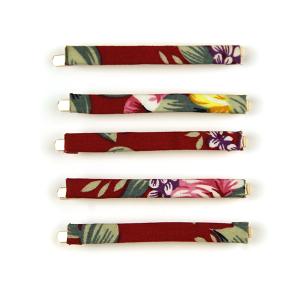 Hair Clip 427 65 Core 5pc hair clip set fuchsia