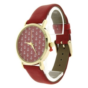 watch 068g 08 strap anchor multi red 9785