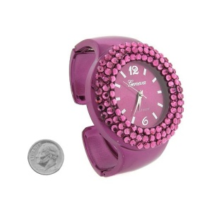 watch 078f 08 cuff crystals purple 3346