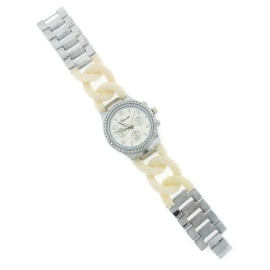 watch 104d 08 links silver off white 3421