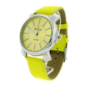 watch 129i 08 2310 cloth band yellow