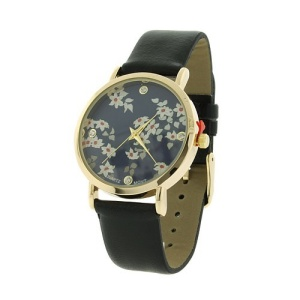 watch 146e 08 9819 floral black gold