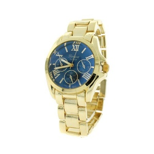 watch 229J 08 round roman numerals blue gold