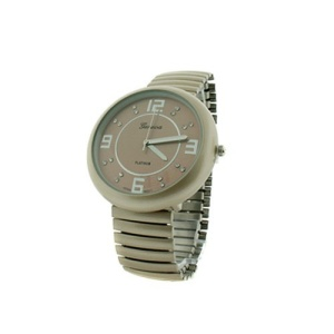 watch 247c 08 stretch band round beige