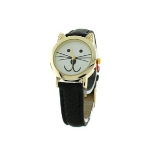 watch 266c 08 4855 round face animal black