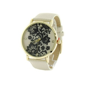 watch 297c 08 4872 round floral crystal white gold