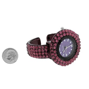 watch 338a 08 cuff round purple