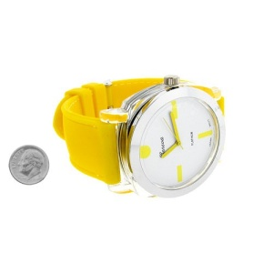 watch 353 08 lg rubber yellow