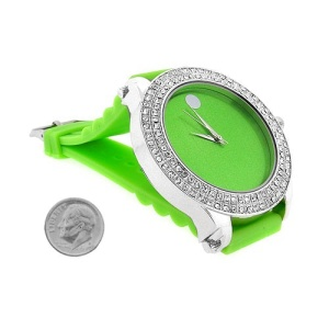 watch 362 08 lg rubber green