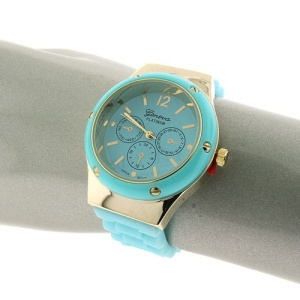 watch 435c 08 round rubber blue gold
