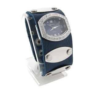 watch 501 08 wrist band silver blue