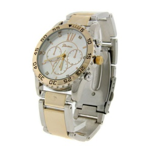 watch 627a 08 link gold silver