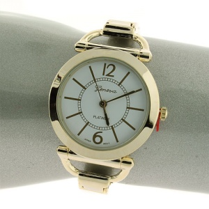 watch 678 08 hinge round circle white gold