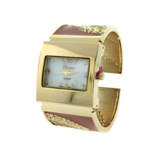 watch 935 08 8624 cuff bangle crystal gold pink