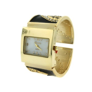 watch 936 08 8624 cuff bangle crystal gold black