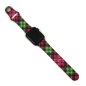 Watch Band 109d chistmas plaid watch band 42mm 44mm