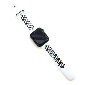 Watch Band 063a Loop Sport watch band 42mm 44mm white black