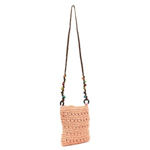 ys p 934s straw bag light pink